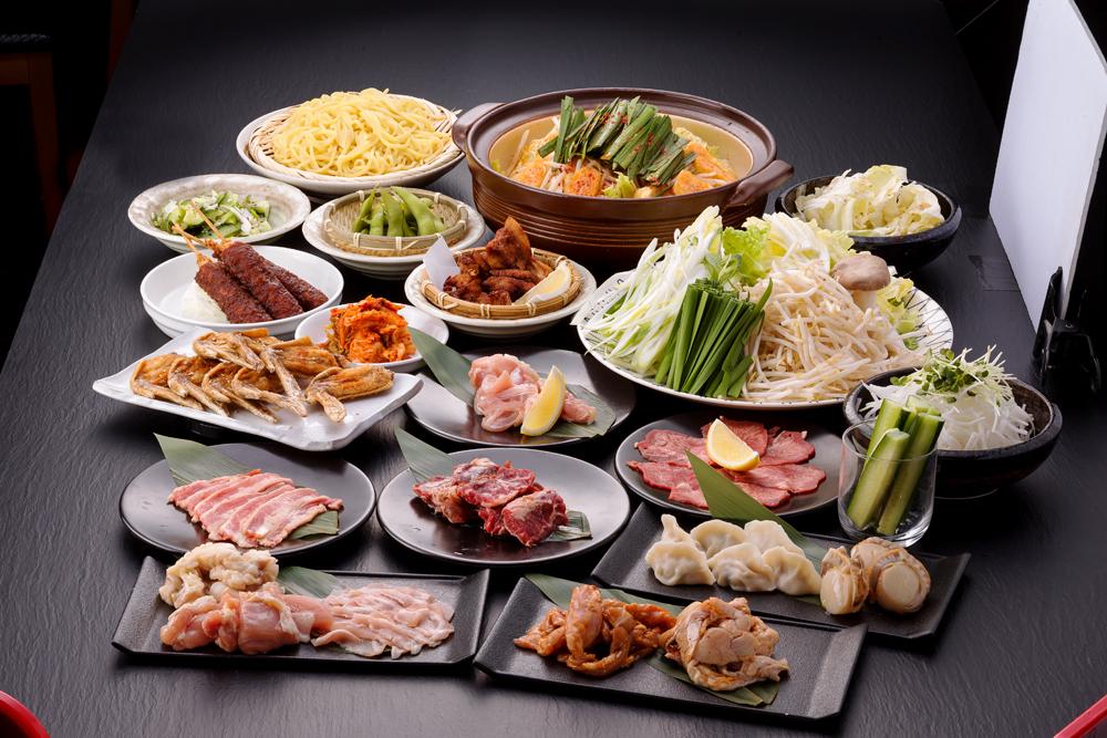 大人気 4種類の食べ放題